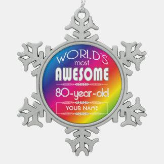 80 o Arco iris fabuloso de los mundos del Adorno