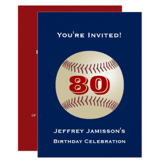 80.o Béisbol de la invitación de la fiesta de