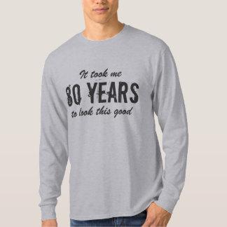 80.o Camisa del cumpleaños para los hombres el |
