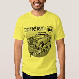 80.o Camisetas y regalos del cumpleaños Playeras