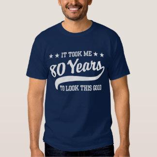 80.o Cumpleaños Playera