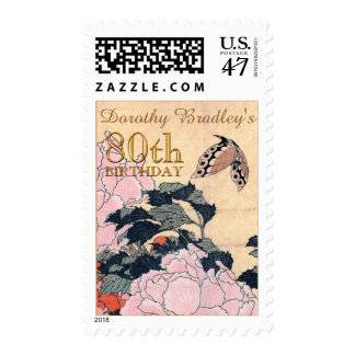 80.o Franqueo del personalizable de la mariposa de Sellos Postales