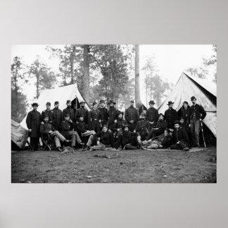 80 o Infantería de Nueva York 1863 Impresiones