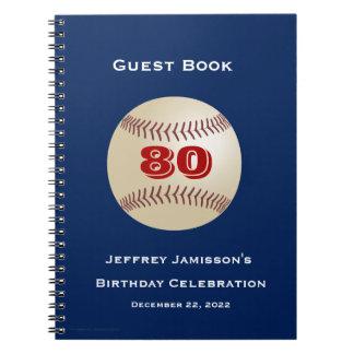 80.o Libro de visitas de la celebración del Libreta
