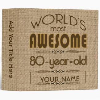 80.o Mundo de la celebración del cumpleaños mejor