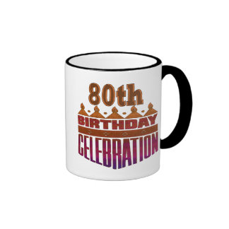 80.o Regalos de la celebración del cumpleaños Tazas De Café