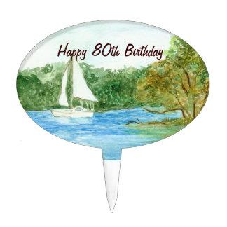 80.o Selección de la torta de cumpleaños Figuras De Tarta
