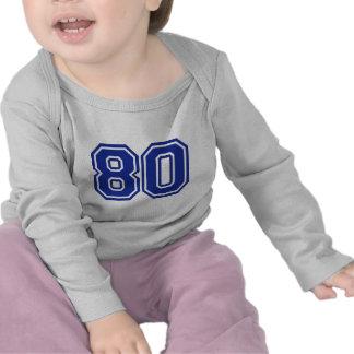 80 - ochenta camisetas