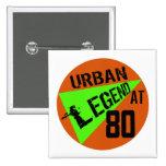 80.os regalos de cumpleaños del urban legend pins