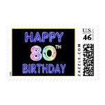 80.os regalos de cumpleaños y ropa felices del cum
