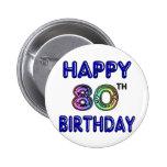 80.os regalos de cumpleaños y ropa felices del cum pin