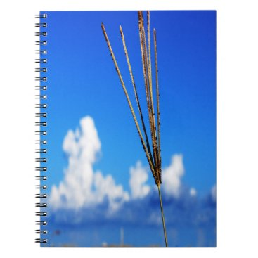 Beach Themed 80 page note book with a beach scene