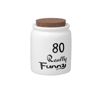 80 Really Funny Birthday Designs Candy Jar
