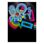 80 Retro Party Poster