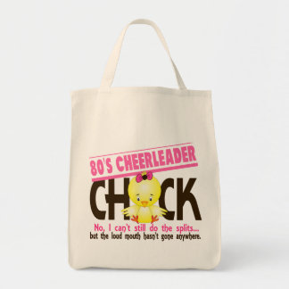 80's Cheerleader Chick Tote Bag