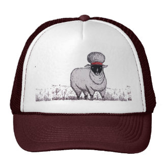 80 ' s Crazy Sheep Trucker Hat