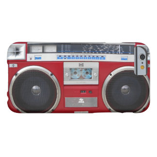 80 S GHETTOBLASTER 002 BARELY THERE iPhone 6 CASE