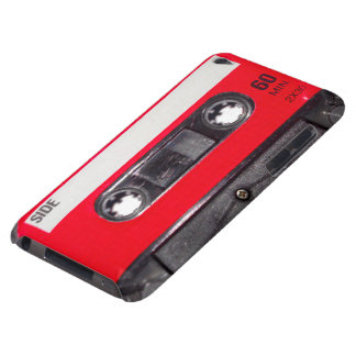 80 s Red Label Cassette iPod Touch Case-Mate Case