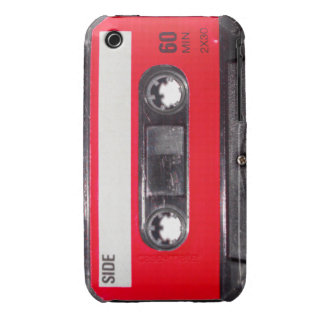 80 s Red Label Cassette iPhone 3 Case