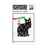 80 Snow Cat Purr-fection Postage Stamps