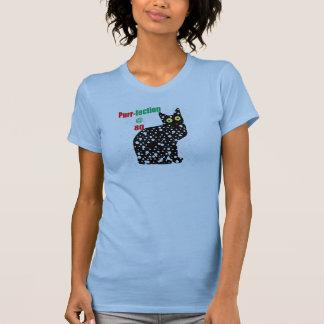 80 Snow Cat Purr-fection T-Shirt