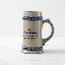80 Something... Beer Stein