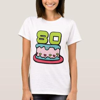 80 Year Old Birthday Cake T-Shirt