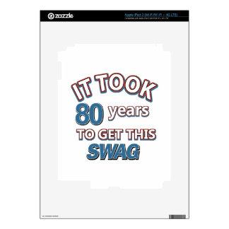 80 year old designs iPad 3 decal