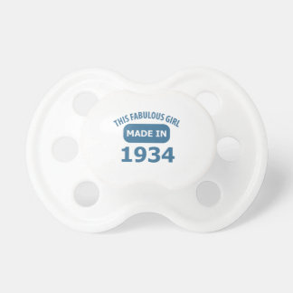 80 year old designs pacifiers