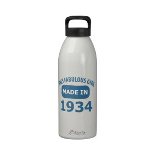 80 year old designs reusable water bottle