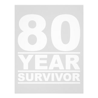 80 year survivor letterhead