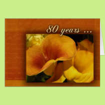 80 years and counting card