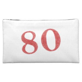 80 years anniversary makeup bag