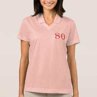 80 years anniversary polo shirt