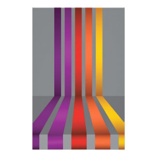 80Colorful Lines_rasterized Stationery
