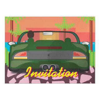 80s Arcade Sports Car Card