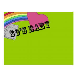 80's Baby Postcard