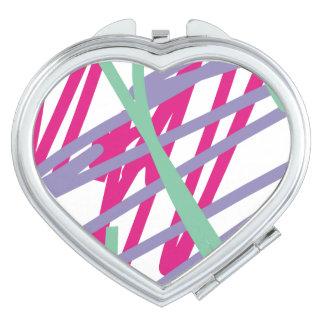 80s bag purse eighties vintage splash medley art compact mirror