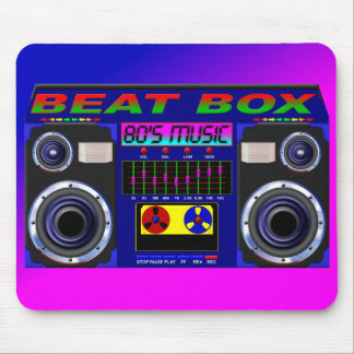 80's Beat Box Mousepad