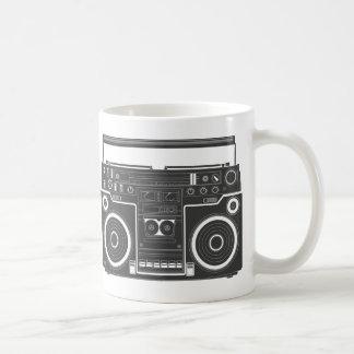 80s Boombox Classic White Coffee Mug