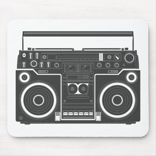 80s Boombox Mouse Pad