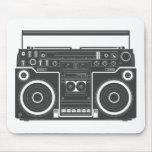 80s Boombox Mouse Pads