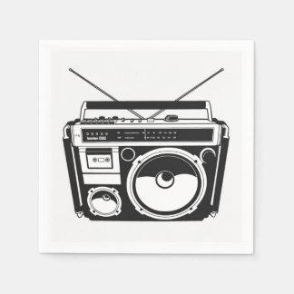 80s Boombox Napkin