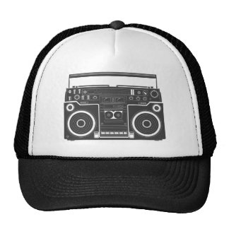 80s Boombox Trucker Hat