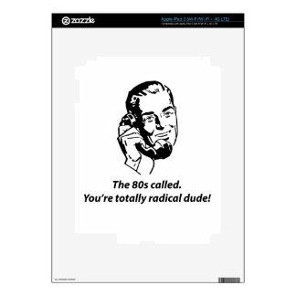 80s called iPad 3 decals