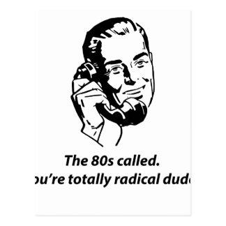 80s called postcard