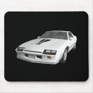 80's Camaro Sports Car: 3D Model: Mouse Pad