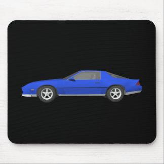 80's Camaro Sports Car: 3D Model: Mouse Pad