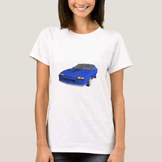 80's Camaro Sports Car: 3D Model: T-Shirt