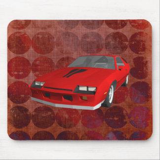 80's Camaro Sports Car: Custom Mousepad